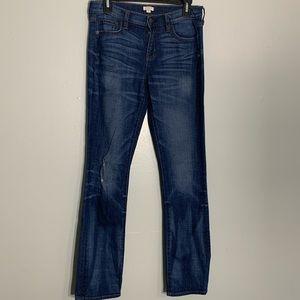 J.Crew San Jose Wash Boyfriend Straight Leg Jeans